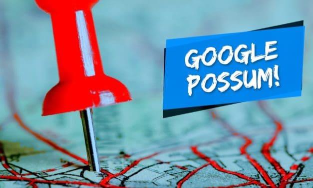 Google Possum é a nova atualização do algoritmo do Google