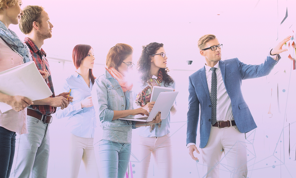 equipe de marketing digital