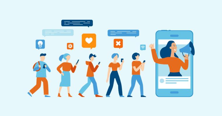 influenciadores redes sociais